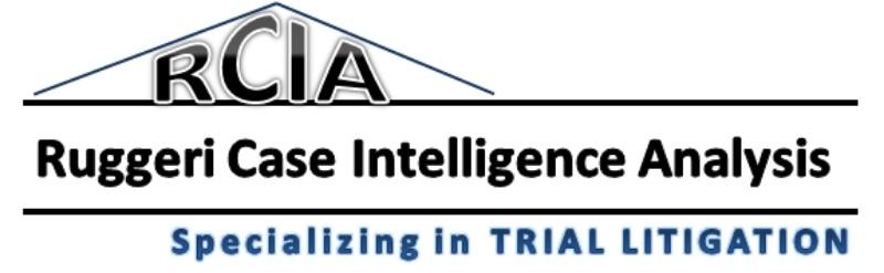 Ruggeri Case Intelligence Analysis -